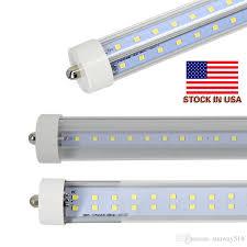 stock in us 72w 8ft t8 led single pin fa8 8 led light