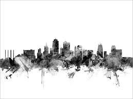 Drawn Skyline Travel Tumblr 9