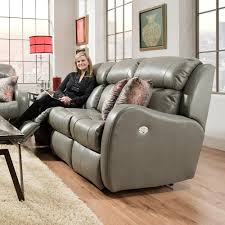 Southern Motion Reclining Furniture by Southern Motion Siri Double Reclining Sofa With Pillows Wayside