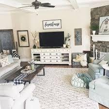 33 Best Farmhouse Living Room TV Stand Design Ideas Living
