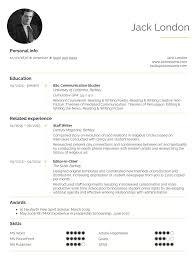 Student Resume Sample Communications And Publishing