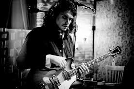 Black And White Guitar John Mayer Music Studio