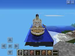 i have built minecraft pocket editions largest titanic mcpe