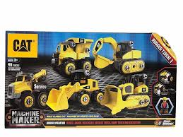 CAT Machine Maker Junior Operator Building 46 Piece Set 1140468 - | EBay Cat Big Rev Up Machine Dump Truck Toy At Mighty Ape Nz Tough Tracks Cstruction Crew Sand Set Amazoncom State Caterpillar Takeapart Trucks Express Train With Machines Toys 36 Piece Kids Shaped Floor Puzzle Nr16n Reach Yellow Norscot 55242 125 Scale Luxurious Cat Cement For Sale 15 Remote Control Toystate Job Site By Revup Vintage Ls Buy Mini Cars Of