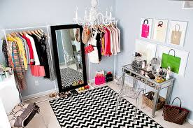 Chic Sewing Room Clothing Rack