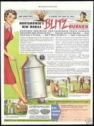 Montamower Mobile Trash Burner Armco 1955