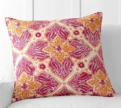 Pottery Barn Decorative Pillows by Belle Embroidered Pillow Cover Pottery Barn