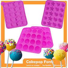 sets cake pop backform silikon cakepop kuchenlollis