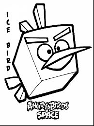 Excellent Angry Birds Space Coloring Pages With