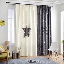 hxb gwell kinderzimmer gardinen vorhang bär motiv ösenschal