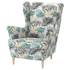 STRANDMON Wing Chair - Gillhov Multicolour - IKEA Sure Fit Cotton Duck Folding Chair Slipcover Wayfair Custom Slipcovers By Shelley Floral Wingback Chair With Boxpleat What Is Upholstery And How Do You Choose The Best Fabric For Your Bedroom Astonishing Wing Recliner For Elegant Home In Buffalo Check The Maker Chairs Redoubtable With Arms Magnificent Vintage Duralee Linen Blue White 2019 To Reupholster A A Bystep Tutorial Guide Amazoncom Tailor Microsuede Fniture Ikea Sofa Cover Couch Comfort Works