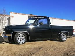 Black 1986 Chevy Silverado Short Bed Fleet Size