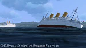 Roblox Rms Olympic Sinking by R M S Empress Of Britain An Unexpected Fatal Attack Youtube