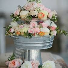 DIY Centerpiece Cupcake Stand Ideas Use A Tin Can Base Glue On Pretty Pie Plate In Small Cake Or Candle Holder And Tea Cup Saucer