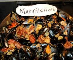 comment cuisiner des moules surgel馥s moules au chorizo recette de moules au chorizo marmiton