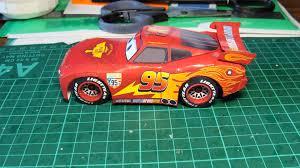 Lightning McQueen Simple Papercraft