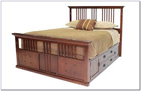 Tommy Bahama Ceiling Fans Tb344dbz by Queen Size Captains Bed With Bookcase Headboard Bedroom Home