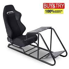 MOOSENG Racing Simulator Cockpit Driving Seat,Video Gaming Chair With Gear  Shifter Mount Pedal For PS4 PS3 One Xbox 360 Logitech Thrustmaster, Black Promech Racing Foldup Paddock Chair With Carry Bag Riptide Blue Iflight Fpv Outdoor Portable Folding Seat With Pouch Pnic For Rc Pnicers Take Advantage Deck Chair Lawn Brighton Editorial Next Level Racing Seat Add On Merax Office High Back Executive Mesh Predator Black Arms Kh Navy Varsity Recliners Beige Lagrima 3pc Zero Gravity Lounge Chairs Beach Ktm Etrack Chair Paddock Camping Race Track Day Spectator Sx Sxf Exc Excf Xc Game Gaming Cockpit Black Fabric Simulator Jbr1012a Sports Ball Design Tent Baseball Football Soccer