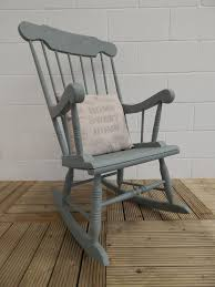 Rustic Wooden Rocking Chairs Style Fireside Chair 15640
