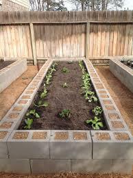 Cinder Block Garden Plans  Home Decorations Insight