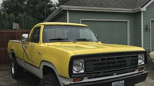 1973 Dodge D/W Truck 4x4 Regular Cab W-250 For Sale Near Eugene ...