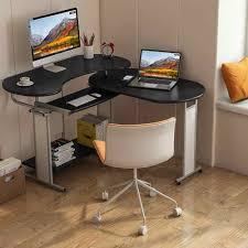 reversible l förmigen computer schreibtisch wenig baum drehen ecke schreibtisch moderne büro studie workstation für home office wohnzimmer zimmer