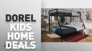 Dorel Twin Over Full Metal Bunk Bed by Walmart Top Cyber Monday Dorel Kids Home Deals Dorel Twin Over