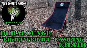 Most Comfortable Lightweight Camping Chair Ever! The Duralounge ... Zero Gravity Rocking Chair Green Easylife Group Gigatent Folding Camping With Footrest Walmartcom Strongback Guru Smaller Camp Lumbar Support Product Telescope Casual Telaweave Alinum Arm Lee Industries Amazoncom Md Deck Chairs Patio Sling Back The 19 Best Stacking And 2019 Fniture Home Depot 12 Lawn To Buy Travel Leisure A Comfy Compact That Packs Away Into Its Own Legs Empty On Stock Photos