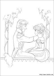 Le Prince Hans Frozen Coloring
