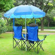 Amazon.com: Yescom Double Folding Chair W Umbrella Table Cooler Fold ... Cheap Double Beach Chair With Cooler Find Folding Camp And With Removable Umbrella Oztrail Big Boy Camping Black Buy Online Futuramacoza Pnic W Table Fold Fan Back The 25 Best Chairs 2019 Choice Products Bag Bestchoiceproducts Portable Fniture Astonishing Costco For Mesmerizing Home Wumbrella Up Outdoor Set Chairumbrellatable Blue