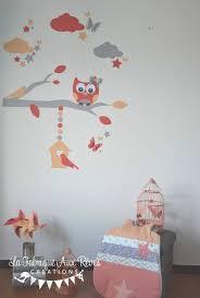 stickers décoration chambre bébé stickers chambre bébé fille pour pas inspiration animaux