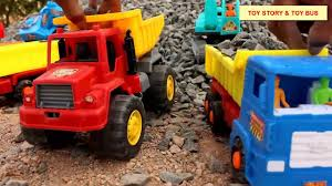 100 Kid Truck Videos Build Bridge Blocks Toys For S Construction Vehicles Toys For