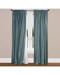 thermalogic rod pocket curtain liner sweet deal on smartblock rod pocket insulating curtain liner in