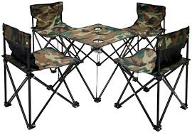 😋 AMANKA Camping Table + 4 Chairs + Carrying Bag 60x22x24cm | Folding  Lightweight Midget Portable | For Picnic Camping Festivals BBQ Hiking  Fishing | ... Gocamp Xiaomi Youpin Bbq 120kg Portable Folding Table Alinium Alloy Pnic Barbecue Ultralight Durable Outdoor Desk For Camping Travel Chair Hunting Blind Deluxe 4 Leg Stool Buy Homepro With Four Wonderful Small Fold Away And Chairs Patio Details About Foldable Party Backyard Lunch Cheap Find Deals On Line At Tables Fniture Lazada Promo 2 Package Cassamia Klang Valley Area Banquet Study Bpacking Gear Lweight Heavy Duty Camouflage For Fishing Hiking Mountaeering And Suit Sworld Kee Slacker Campfishtravelhikinggardenbeach600d Oxford Cloth With Carry Bcamouflage