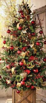 Rustic Christmas Tree 20 Awesome ChristmasTree Decorating Ideas Inspirations