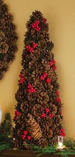 Rustic Woodland Holiday Christmas Floral Pinecone Tree Jamie This Is What U Can Do With All Your Pine Cones