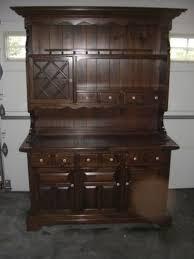 Ethan Allen Secretary Desk With Hutch by Ethan Allen Custom Room Plan Antiqued Old Tavern Pine 40