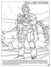 Coloring Books United States Armed Forces Military