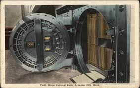Home National Bank Vault Arkansas City KS