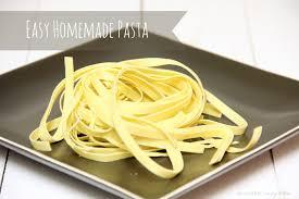 Homemade Pasta AMFT