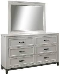 6 Drawer Dresser Black by Aspenhome Hyde Park 6 Dovetail Drawer Dresser And Mirror Wayside