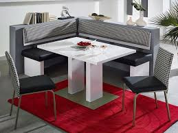 Cool Booth Kitchen Table With Red Carpet Underneath
