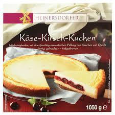 heinersdorfer käse kirsch kuchen 1 05 kg tiefgefroren