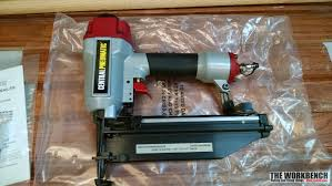 Wood Floor Nailer Harbor Freight by Central Pneumatic 16 Gauge Air Finish Nailer Review U2013 The Workbench