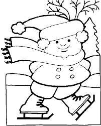 Ideas Collection Printable Free Winter Coloring Pages For Kindergarten In Template