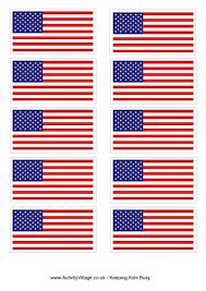 Pin American Flag Clipart Printable 3