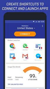 Rocket VPN best Android VPN app