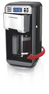 Hamilton Beach 46205 Coffee Maker With Swivel Feet Take Removing And Fill Of Water