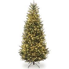 Slim White Flocked Christmas Tree by Flocked White Slim Pre Lit Christmas Tree Walmart Com