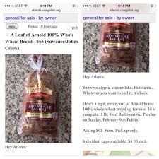 100 Atlanta Craigslist Cars And Trucks By Owner 65 For A Loaf Of Bread Ridiculous Posts During The
